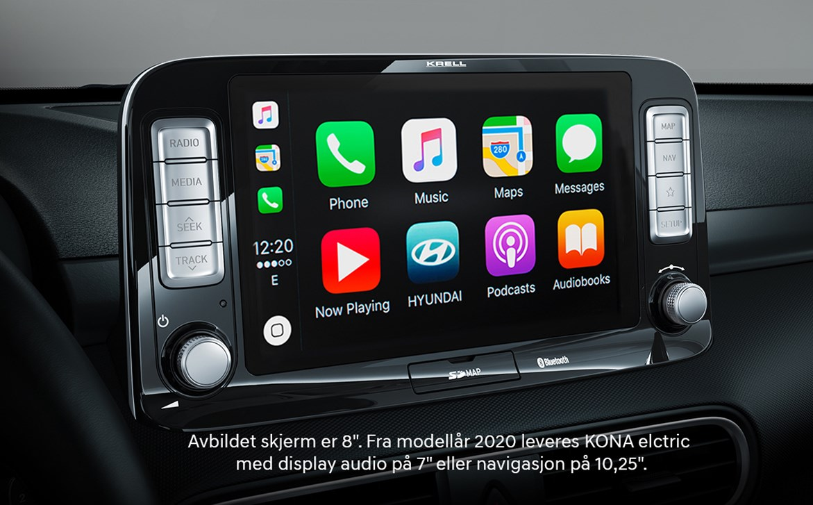 Apple CarPlay™ og Android Auto™